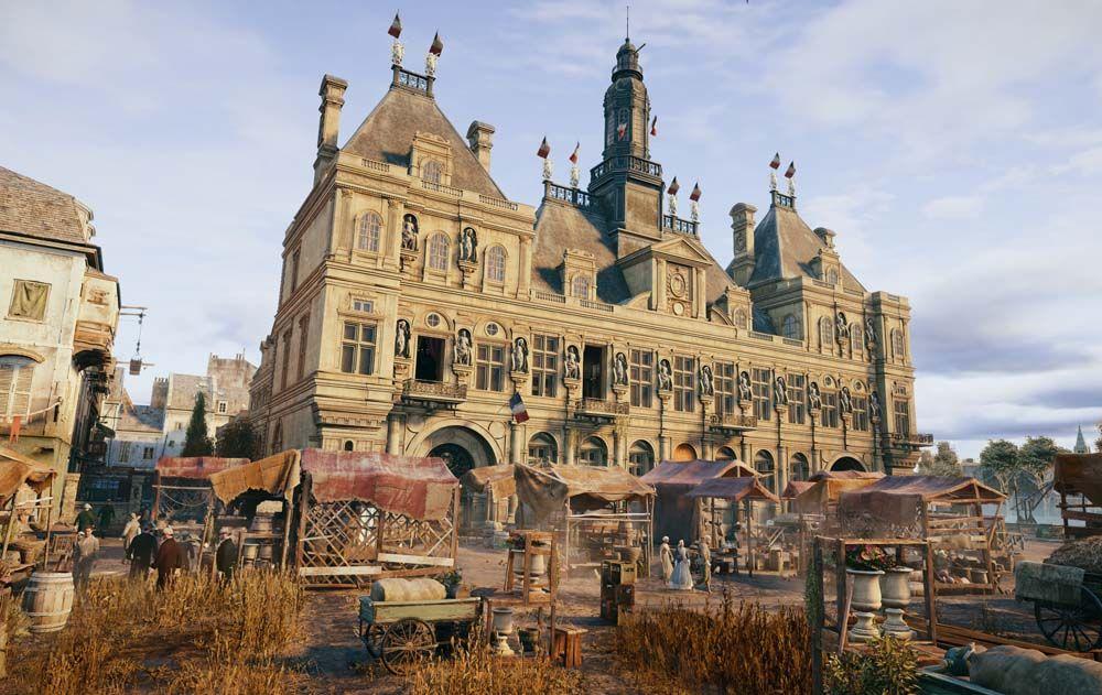 Hotel de ville o Palazzo di città (Parigi) Hotel de ville (Paris) Assassin's creed unity