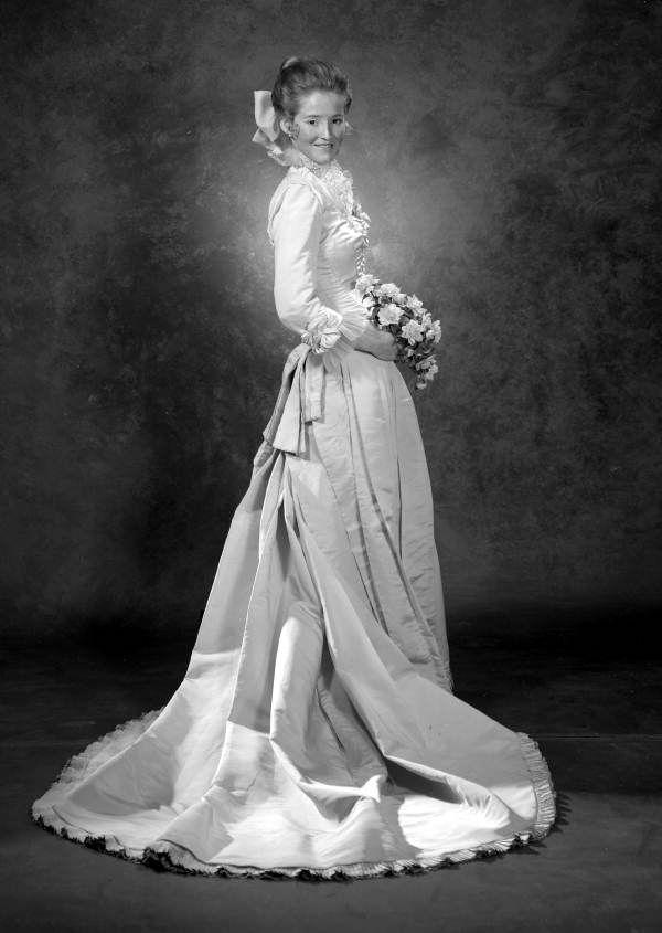 Studio portrait of Julianne Smith in a wedding dress - Tallahassee ...
