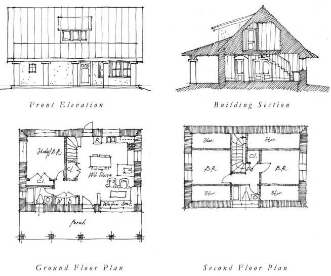 cottage guest house plans | ... build a garden gate with ...