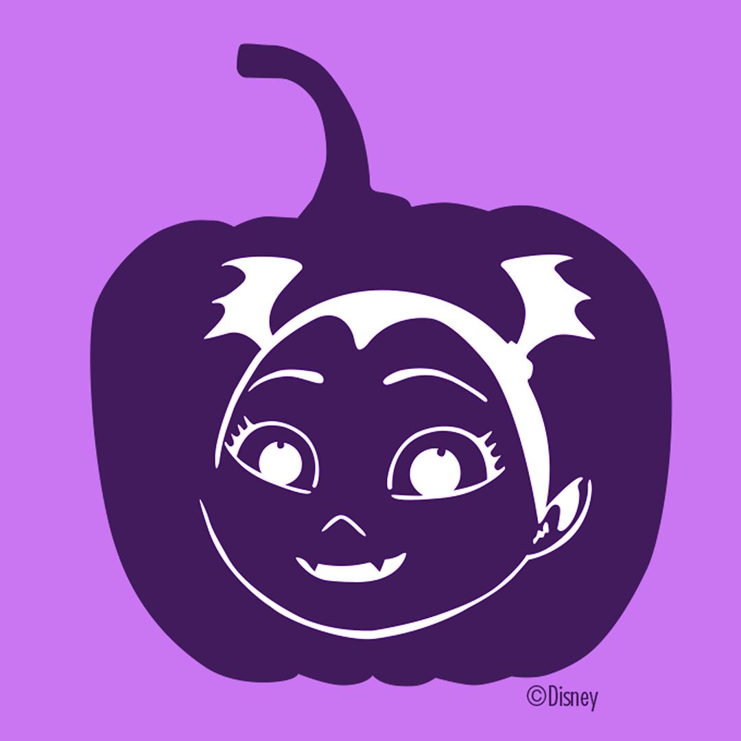 vampirina pumpkin template  Create your own HalloVeen Pumpkin! 🎃 Get your printable ...