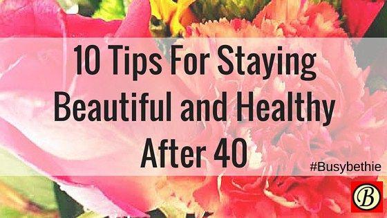 beautiful healthy women over 40