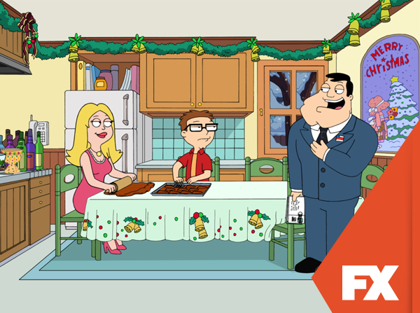 seasons beatings is the fifth christmas episode of the animated sitcom american dad - American Dad Christmas Episode