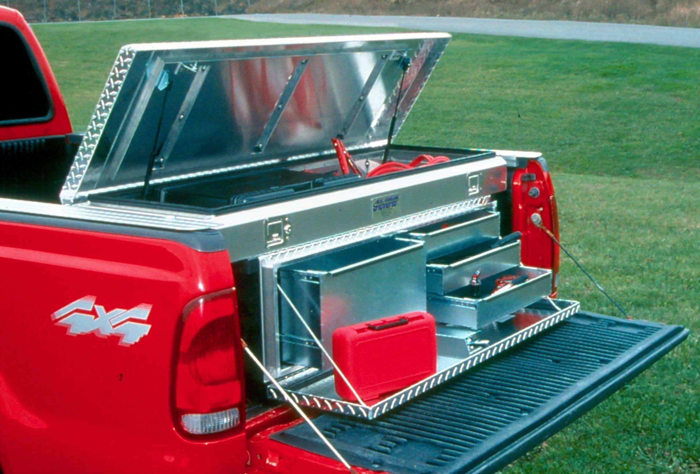 Tool Storage Truck Bed Tool Storage Ideas Truck Bed Storage