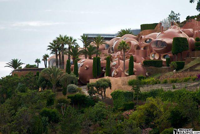 As 17 Construcoes Mais Estranhas Do Mundo Casas Estranhas Casas