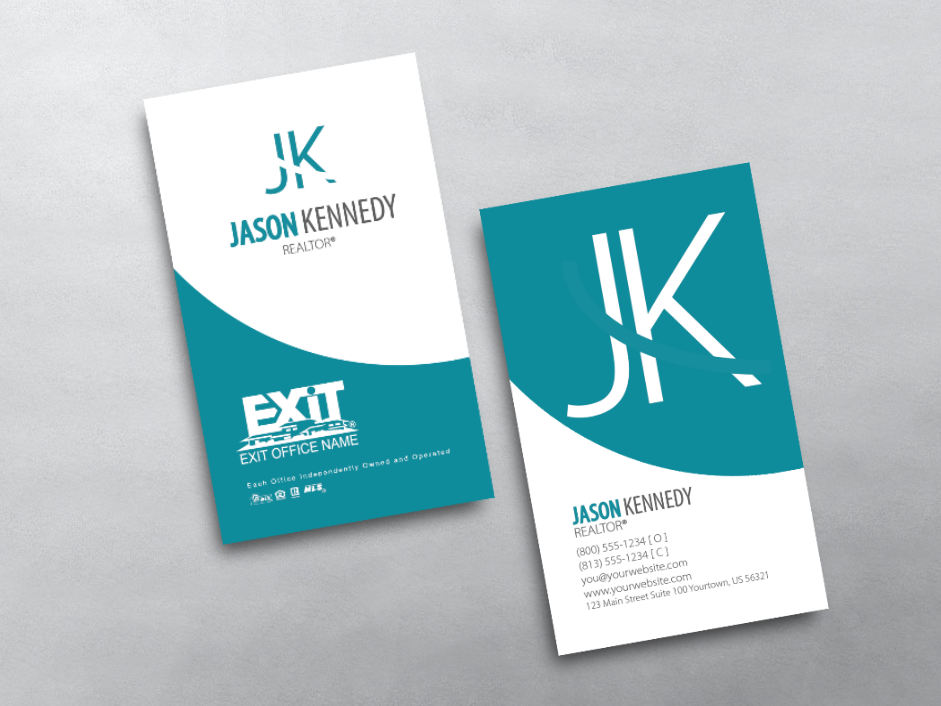 Order Exit Business Cards Free Shipping Design Templates Exit Realty Business Cards Realtor Business Cards Business Cards Business Card Inspiration