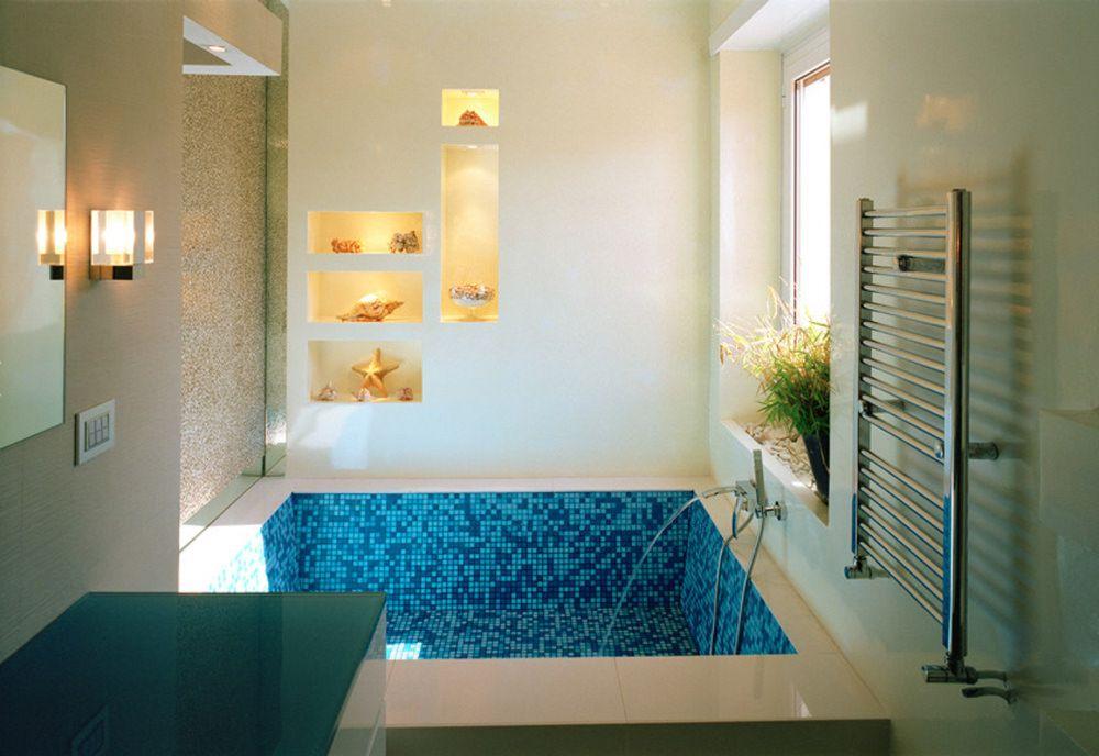Idee bagni in muratura stile moderno classico e rustico