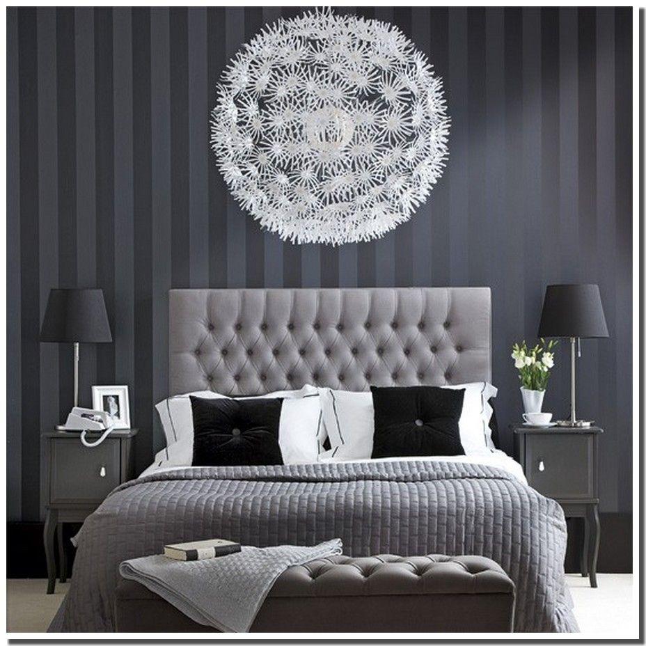 Chambre style baroque noir blanc | Mobilier de Chambre à ...