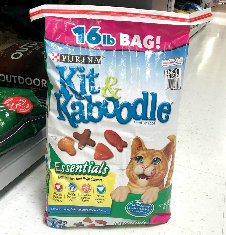 New 2 1 Purina Kit Kaboodle Dry Cat Food Coupon Walmart Deal Cat Food Coupons Dry Cat Food Cat Food Brands