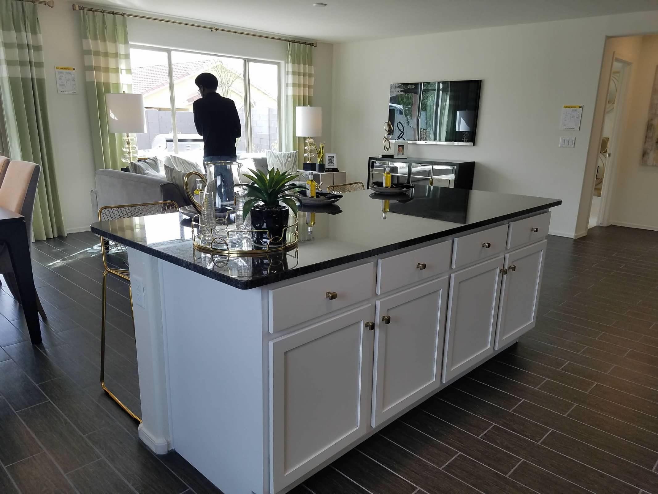 KB Home Kitchen Island | Kb homes, Home kitchens, Kitchen