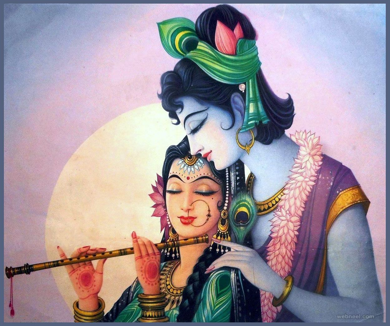 1-indian-painting-krishna-radha | Daily Inspiration ...