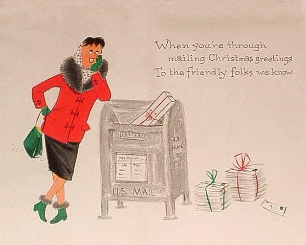 christmas mailing - Mailing Christmas Cards