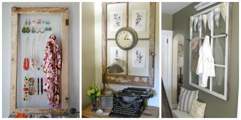 14 New Ways To Repurpose Old Windows For The Home Pinterest