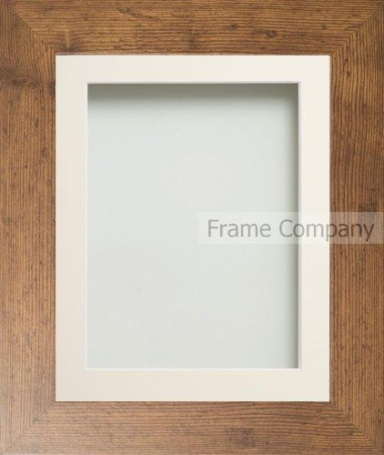 Frame Company Watson Range Rustic Picture Photo Frame with Ivory ...