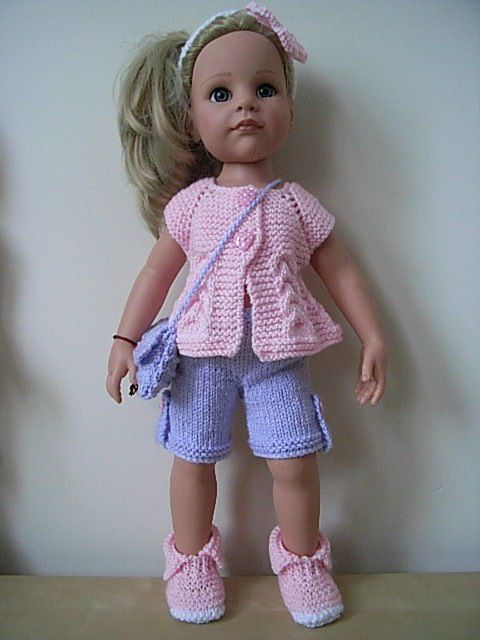 American girl/gotz hannah designafriend hand knitted dolls clothes ...