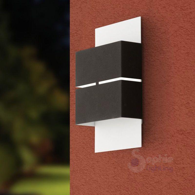 Dettagli su lampada led applique parete esterno moderna - Applique led esterno ...