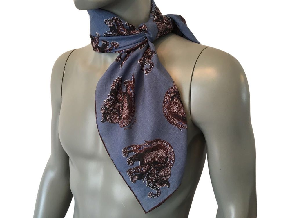0de5e9e207eb New Authentic Louis Vuitton Chapman Elephant Scarf  259  fashion  scarves