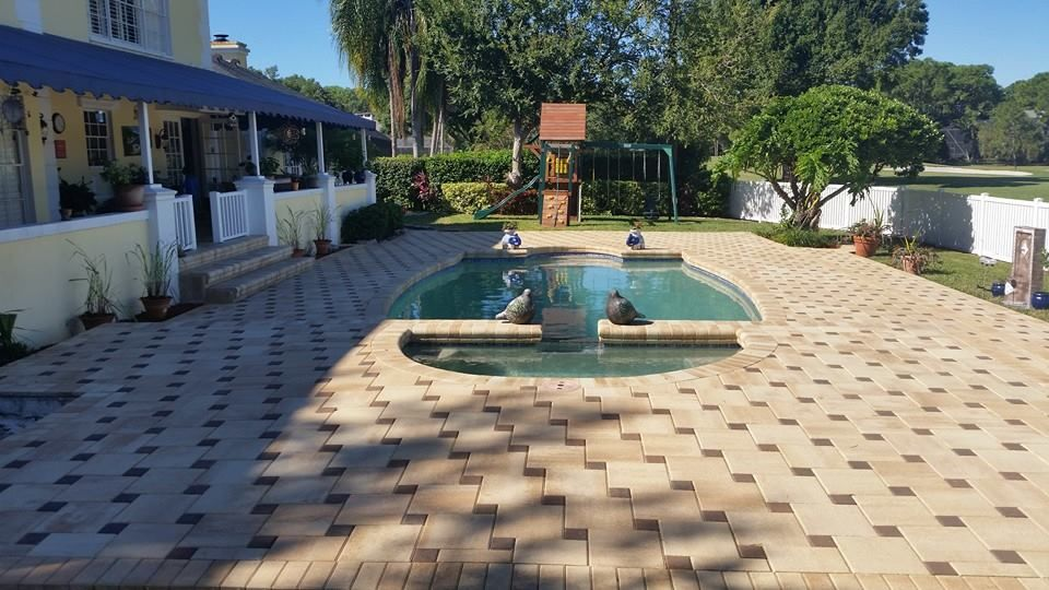 Tampa Paving Contractor Brick Paver Companies Near Me Outdoor Pavers Brick Pavers Pool Pavers