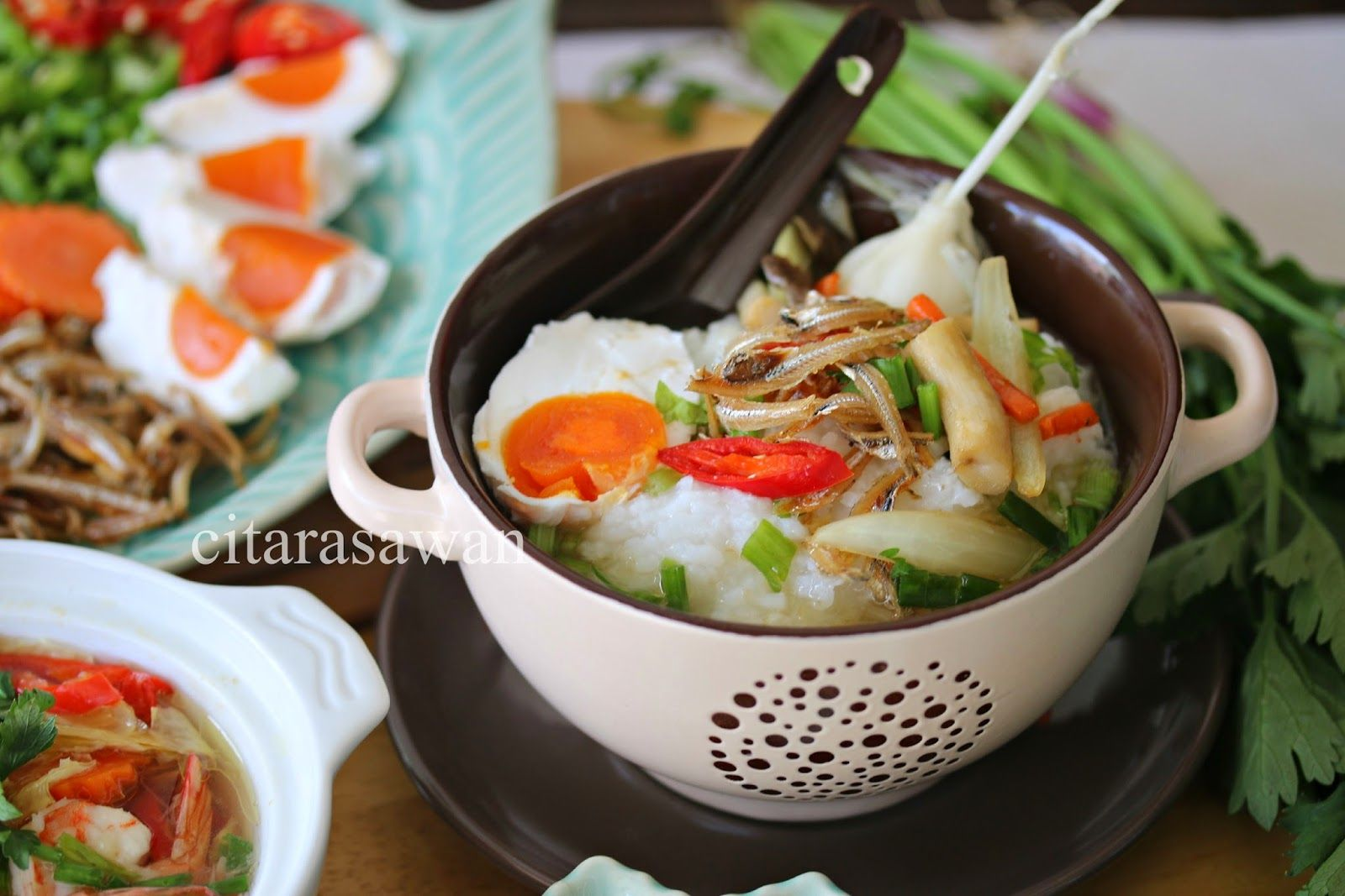 Bubur Nasi Berlauk Kelantan Resep Masakan Asia Makanan