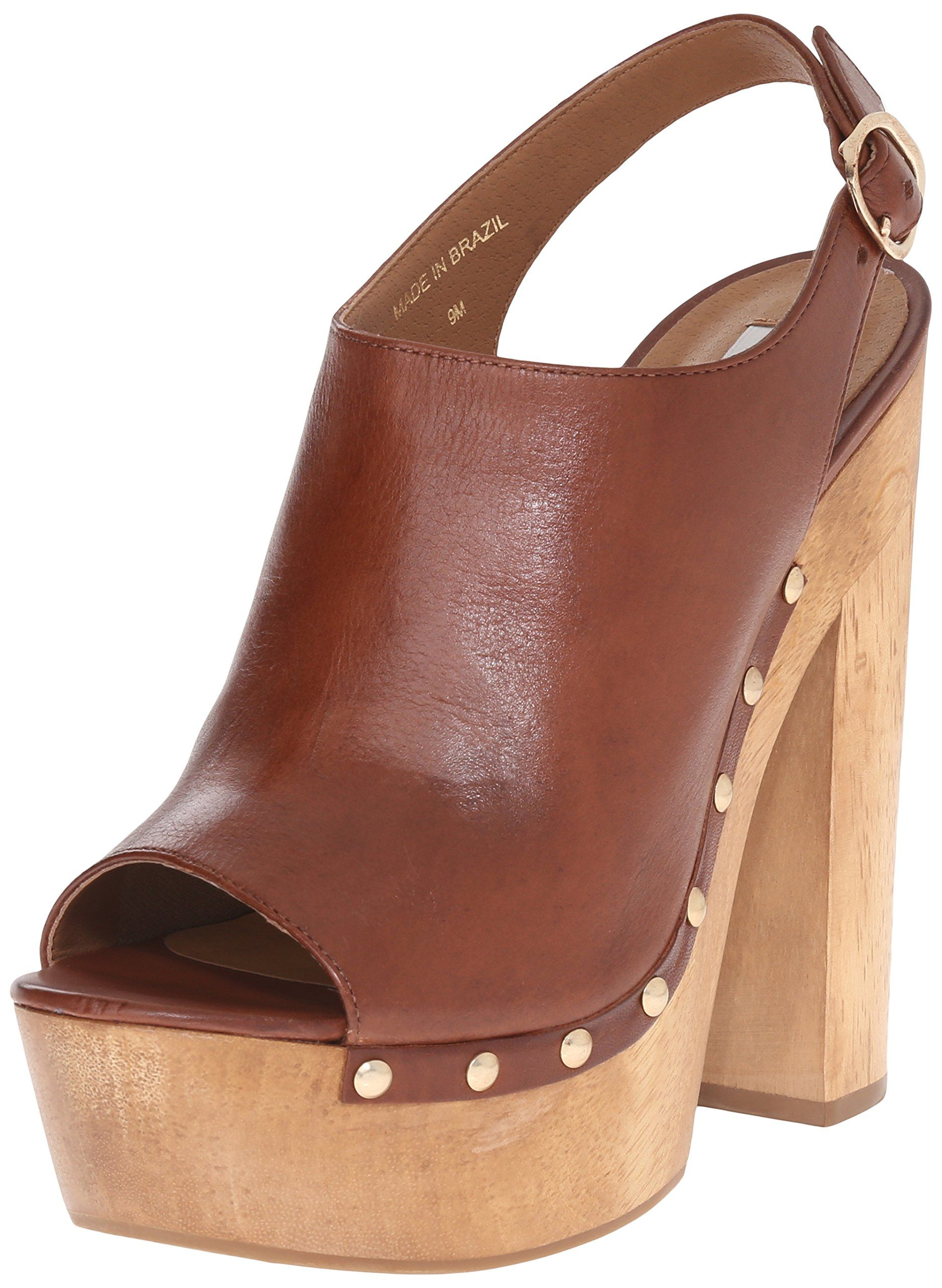 ec15417ece2 Steve Madden Women s Slngshut Peep-Toe Platform Heel