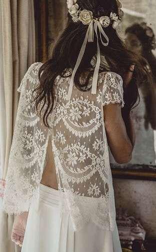 tendencias de boda 2017: vestidos de novia de dos piezas [fotos