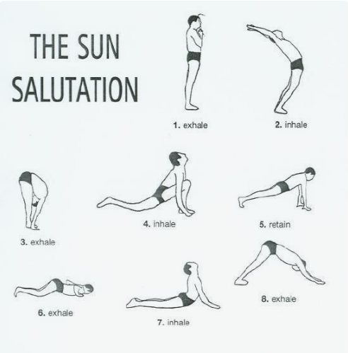 sun salutation y'all  sun feelings workout