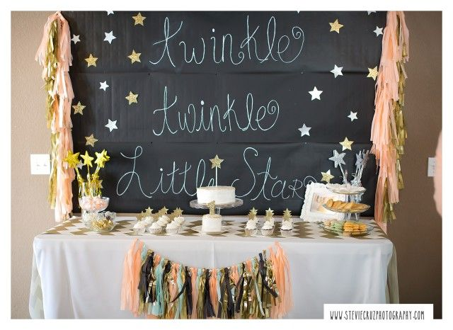 star baby showers twinkle twinkle little star first birthday party