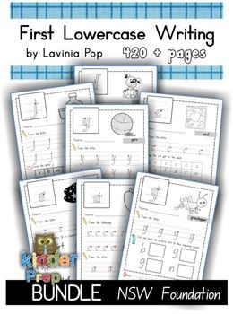 Handwriting - BUNDLE Lowercase Letters {NSW Foundation}   Circles ...