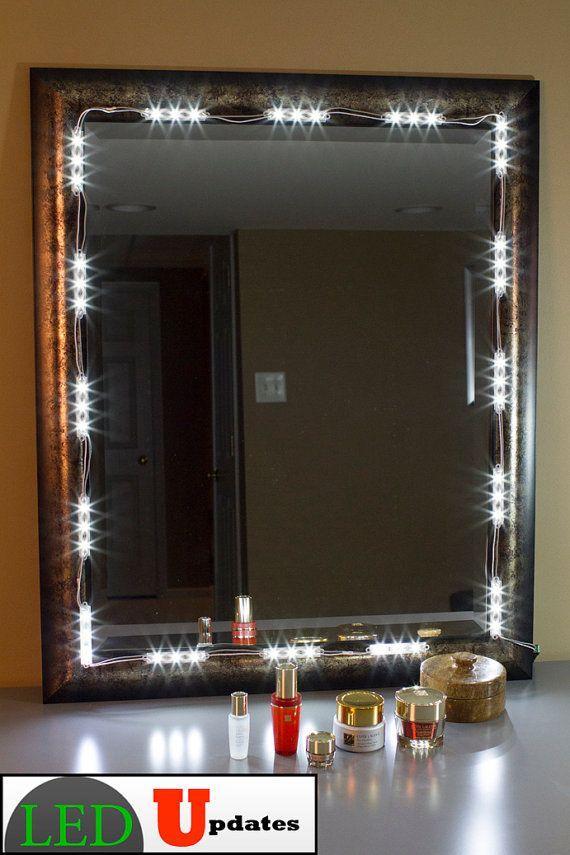 Make Up Mirror Led Light Kit Vanity Led Light With By Ledupdates