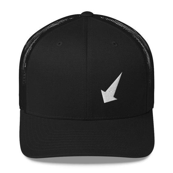 Classic Trucker Cap, Classic Dad Hat, Retro Baseball Cap for Women & Men, Classic Car Hat, Abstract Logo Hat from ZeitgeistGear