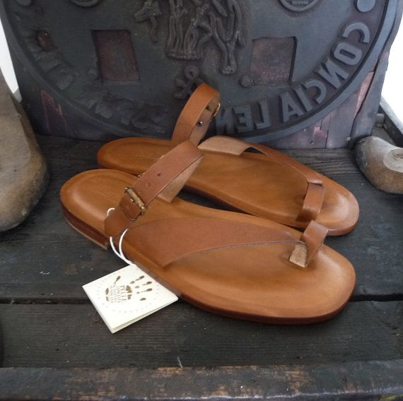 d7a959d72a30 Men handmade sandals in Vegetable tanned Leather Mario Doni, Man ...