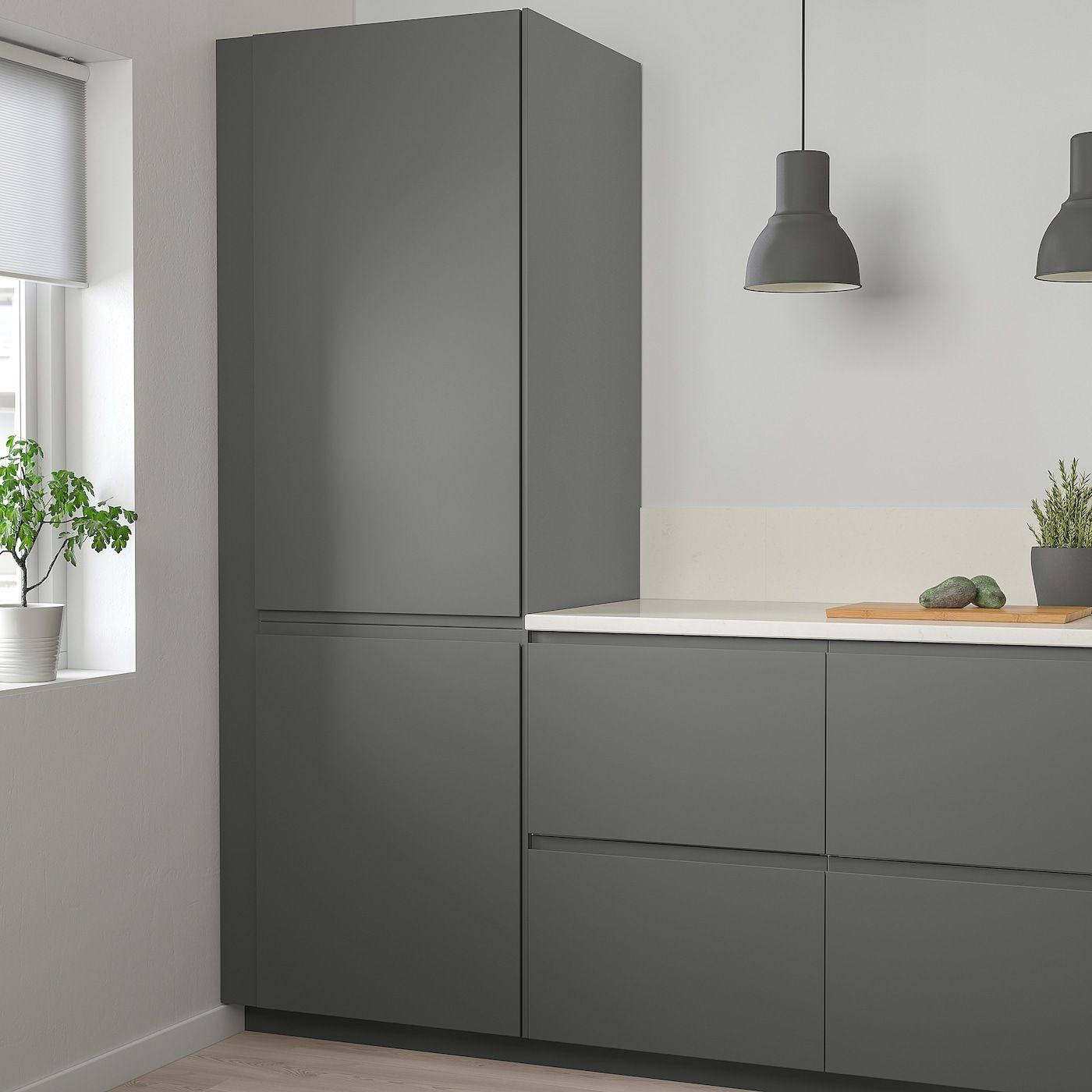 Voxtorp Deur Donkergrijs 60x80 Cm Ikea In 2020 Kuchendesign Modern Kuchenturen Kuchendesign