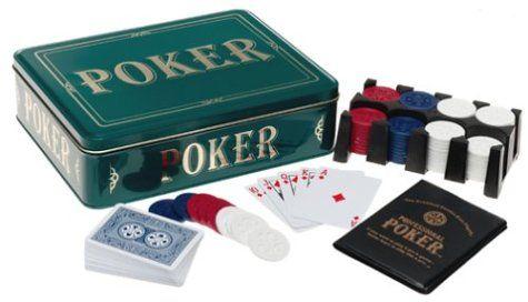Poker Game  Tin (Green)