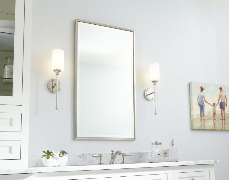 Bathroom Sconces For Brighter More Beautiful Space Bathroom