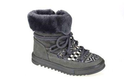 Kozaki Ocieplane Szare Tamaris R 37 26470 27 6592991336 Oficjalne Archiwum Allegro Boots Winter Boot Shoes