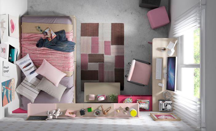 KIBUC muebles y complementos  Juveniles Chroma  Dormitorios para nios y jvenes  Kids room Girl room y Home Decor