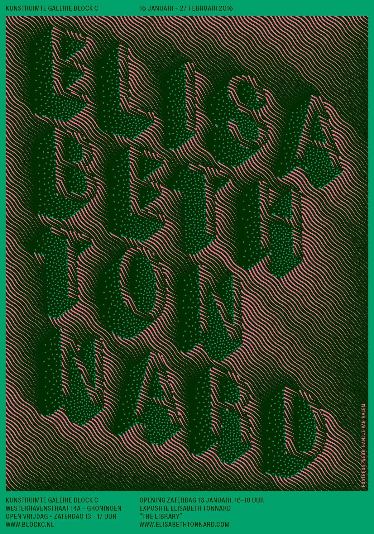 Galerie Block C Poster for Elisabeth Tonnard - www.hansje.net