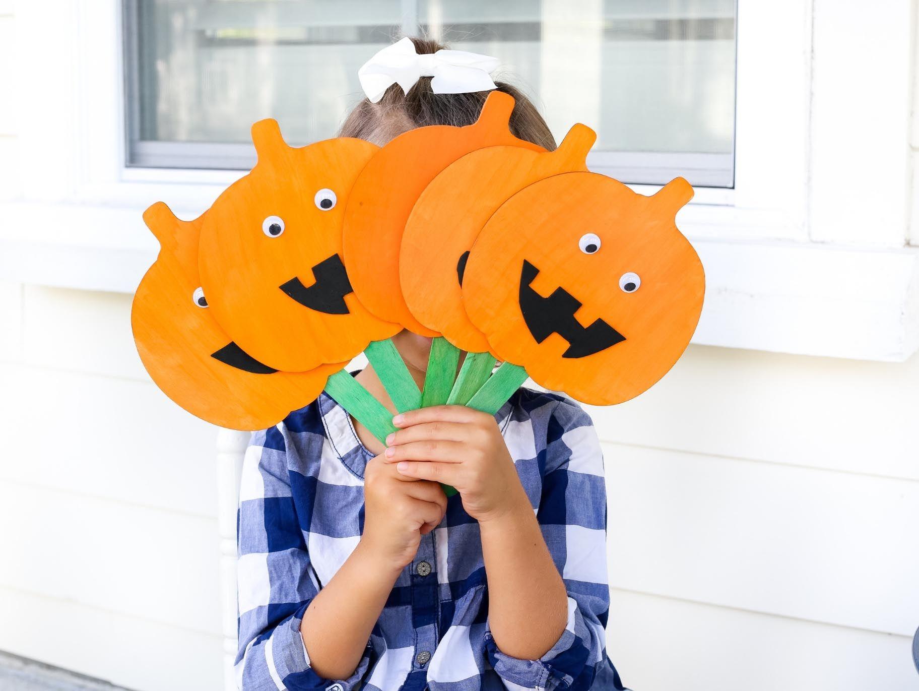 5 Little Pumpkin Puppets Craft Amp Fingerplay