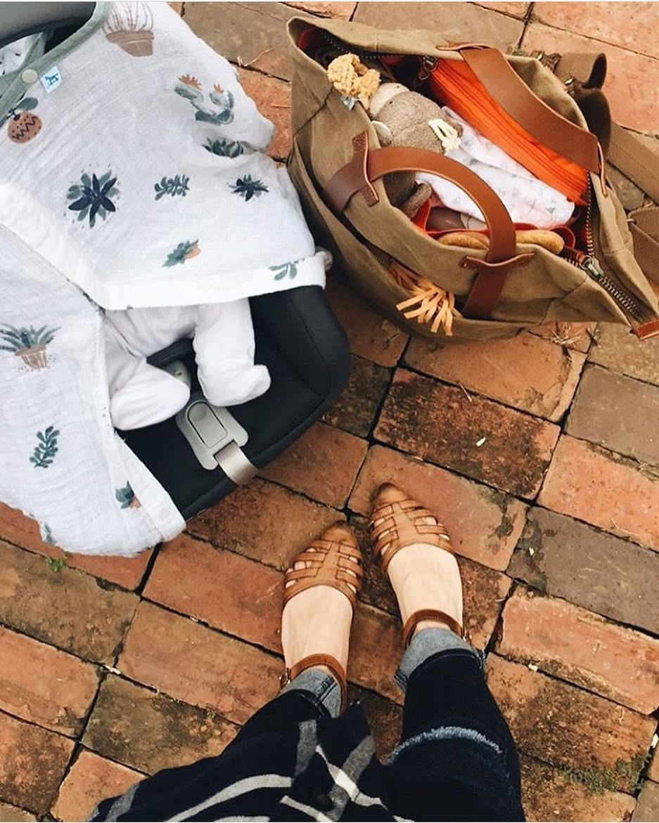 Cotton muslin car seat canopy prickle pots family goals car seat