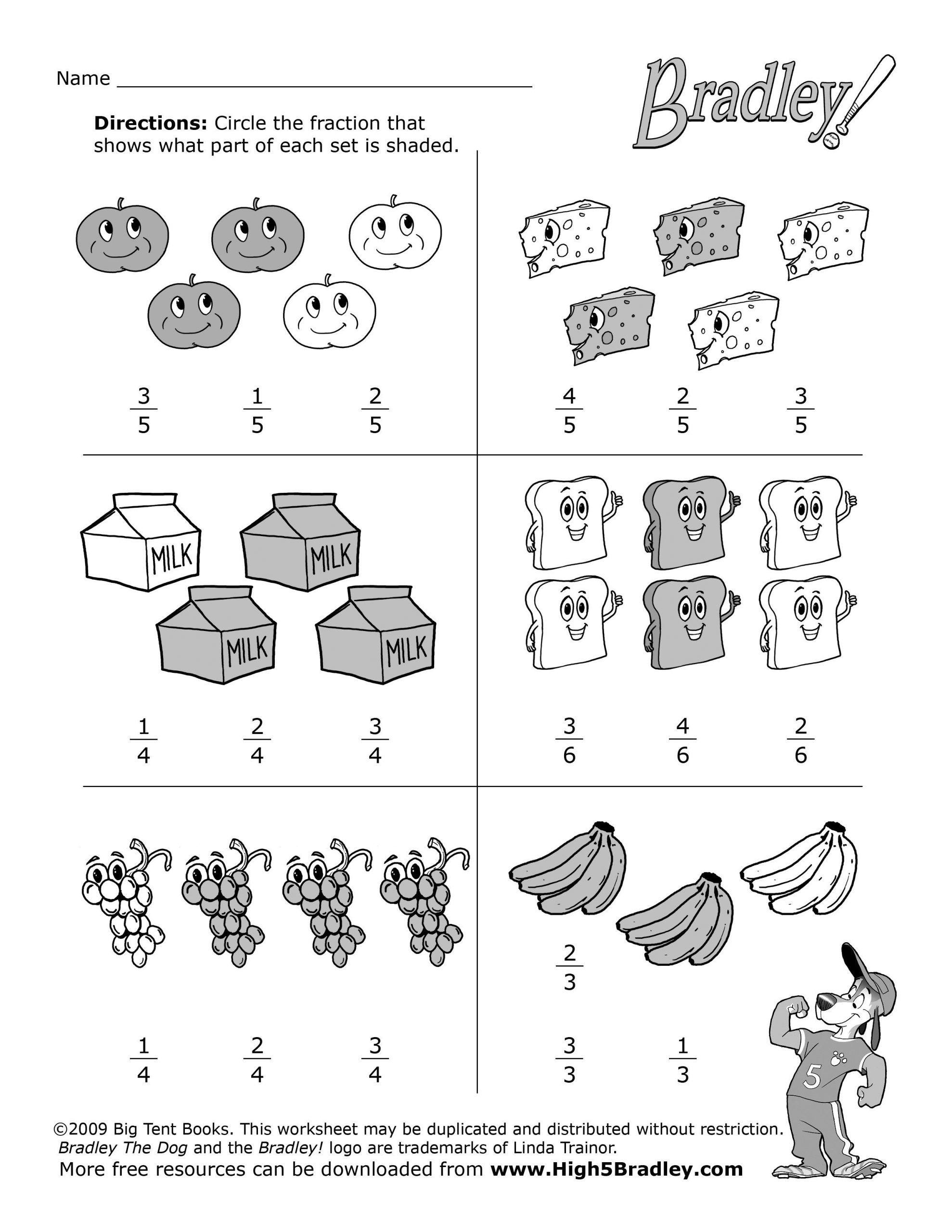 Fractions Worksheets 2nd Grade 2nd Grade Math Food Fractions1 2 550 3 300 Pixels In 2021 Fractions Worksheets 2nd Grade Math Worksheets Fun Math Worksheets