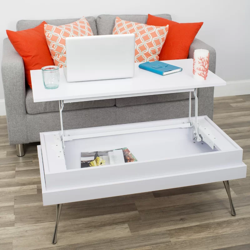 Cornelia Lift Top Coffee Table With Storage Coffee Table Lift