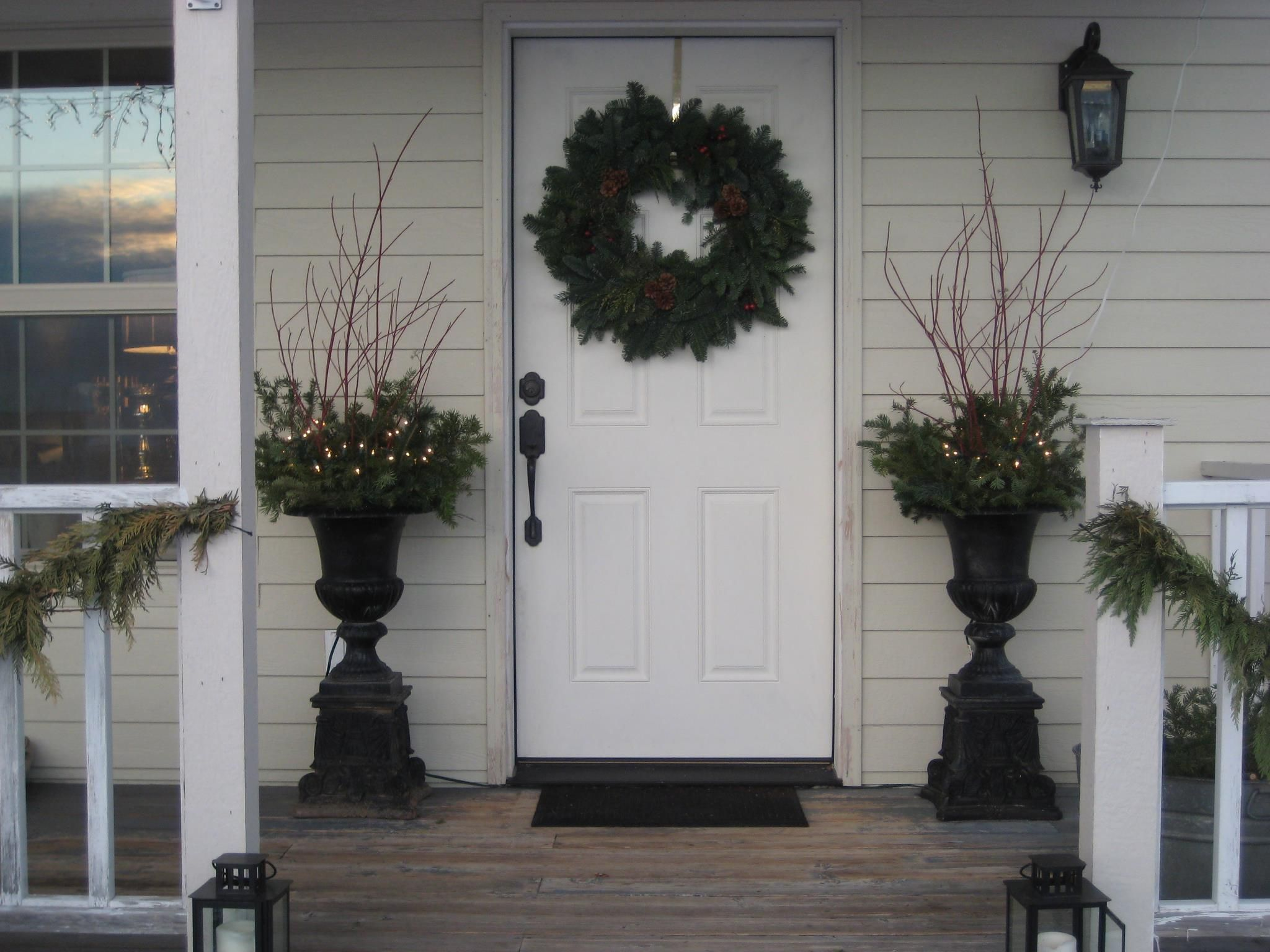 French Country ~ Porch and Front Door Idea | Simple ...