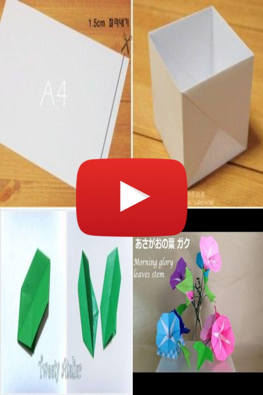 5 petals origami flower #1 | Origami flowers tutorial, Paper ... | 1500x1000