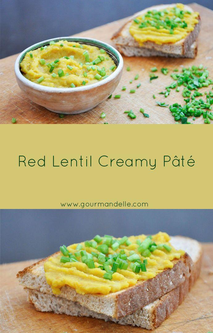 Red Lentil Creamy Pâté