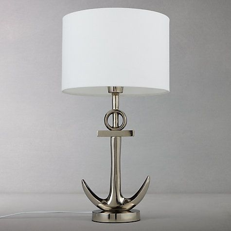 Buy John Lewis Anchor Table Lamp, Antique Metal Online At Johnlewis.com