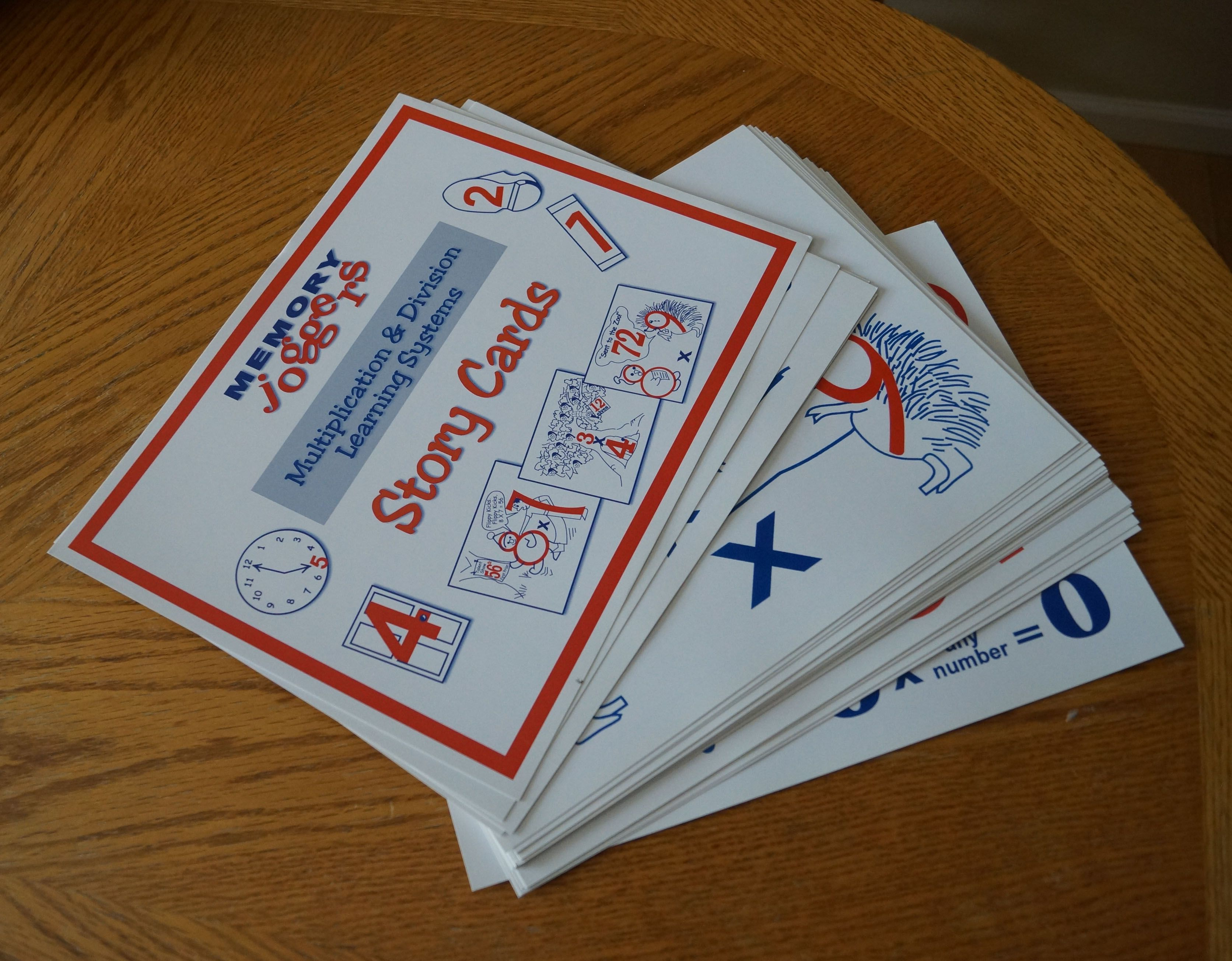 Memory Joggers Story Cards Review