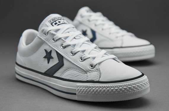 e22fd3f343c5 Mens Shoes - Converse Cons Star Player Core Leather - White Cactus - 144429c