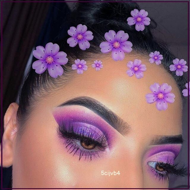 Image about girl in purple makeup by baddesteves Discovered by baddesteves. Find images and videos about girl, cute and beauty on We Heart It - the app to get lost in what you love.  #Older #(Mens #Short #Haircut) #Hairstyles #Tutorial