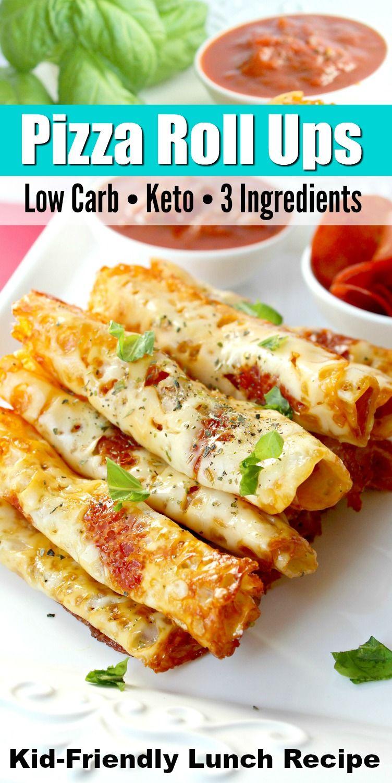 Photo of Keto Pizza Roll Ups