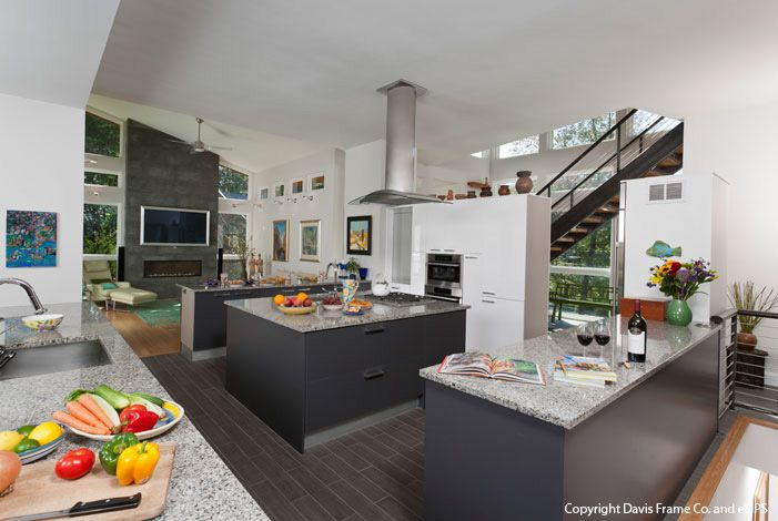 Open Concept beach House Plans Open concept panelized home in