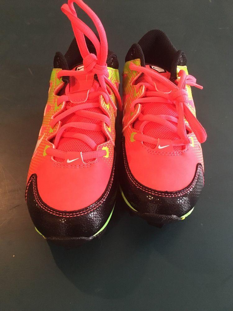 91bb5c85a7f3 Nike Baseball Softball Girls Cleats 684681 610 Hyperdiamond Keystone Size  2Y (eBay Link)